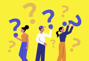vragen stellen op het werk
